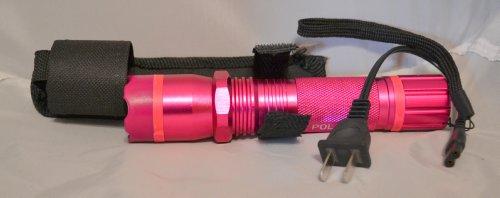 Kentucky Tactical 1101 Flashlight Stun Gun (pink)