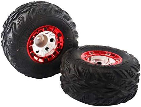 Baoblaze ラジコンパーツ タイヤ ホイール 1:12 RCクローラーカー用 プラスチック 2個セット