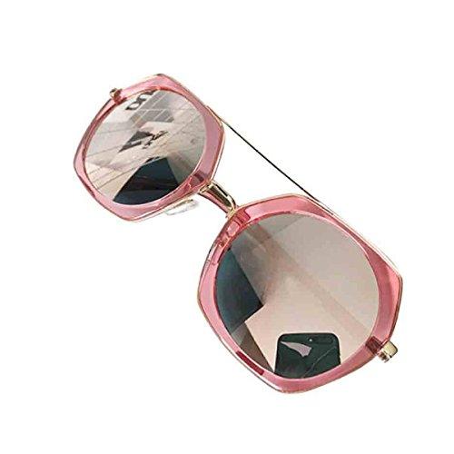 Mujeres Poligonales Gafas Las De De De Nueva Sol Personalidad La De Sol Rosa Gafas paI8qxXx