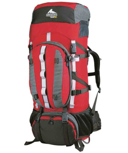 Gregory Denali Pro 105 Mountaineering Pack (Chili Red,Large), Outdoor Stuffs