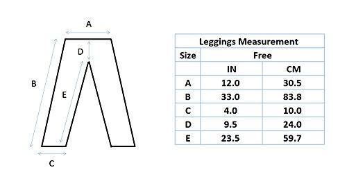 MD - Leggings - para mujer negro