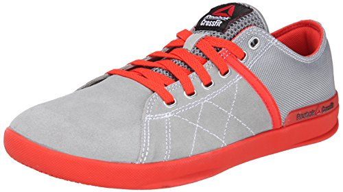 Reebok Men's crosssfit lite lo tr-m, Flat Grey/China Red/White, 7.5 M US For Sale