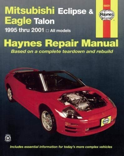 Mitsubishi Eclipse & Eagle Talon 95-05 (Haynes Repair Manual) Paperback January 1, 2005