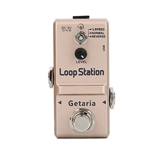 Getaria Looper Effects Pedals Unlimited Overdubs 10 Minutes of Looping by Getaria