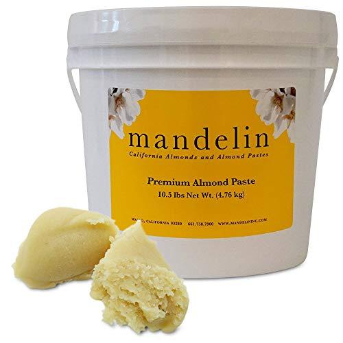 Mandelin Premium Almond Paste 66% Almonds, 34% Sugar (10.5lb)