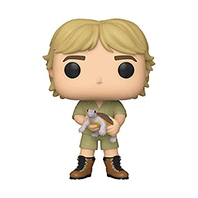 Funko Pop! TV: Crocodile Hunter - Steve Irwin (Styles May Vary), Multicolor: Toys & Games