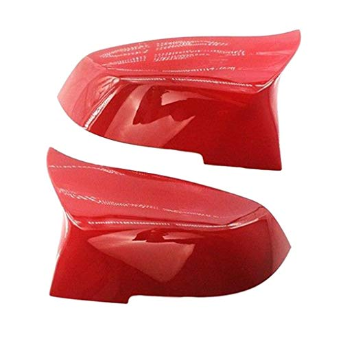 Topker 1 Pair Right Left Side Automobile Rearview Mirror Cover Replacement for F30 13-18 51167292745 51167292746 by Topker (Image #1)