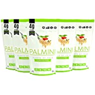 Palmini Low Carb Pasta | 4g of Carbs | As Seen On Shark Tank | Gluten Free | 12 Oz. Pouch (6 Unit Case)