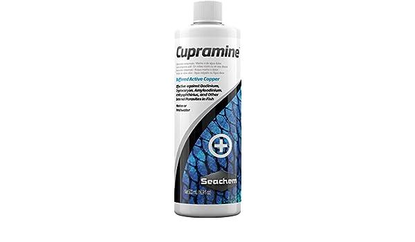 Cupramine, 500 mL / 17 fl. oz. by Seachem: Amazon.es: Productos para mascotas