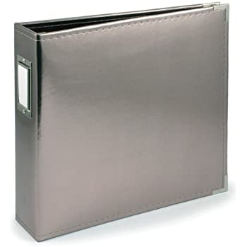 Pioneer photo albums tm 12 12 by 12 inch 3 for American crafts 3 ring scrapbook album binder