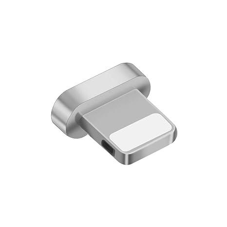 TOUSHI Cable Cargador Adaptador magnético para iPhone Micro USB ...