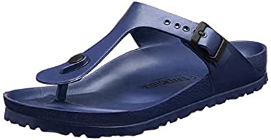 Birkenstock Unisex Gizeh EVA Regular Fit - Navy 128211 (Man-Made) Womens Sandals 40 EU