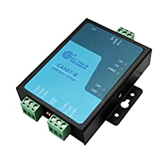 Introduction The GCAN-202(CANET II) is a CAN-Bus converter, used for Ethernet converting CAN-Bus.  It is an industrial-grade CAN-Bus converter, whose function is to realize interconnection easier and extends the application scope of CAN-Bus H...