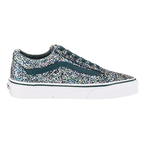 wholesale dealer 5cdb2 a78ca best Vans Unisex Old Skool (Chunky Glitter) Skate Shoe