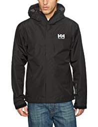 Helly Hansen Men\'s Seven J Jacket, Black, Large