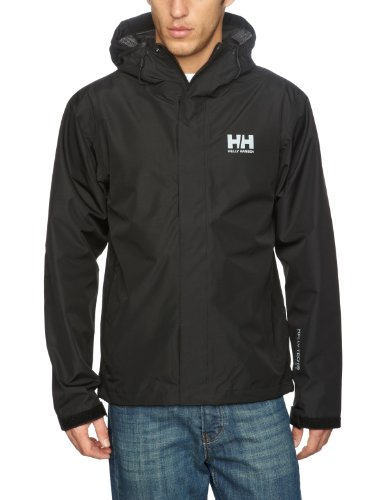 Helly Hansen Men's Seven J Jacket, Black, X-Large