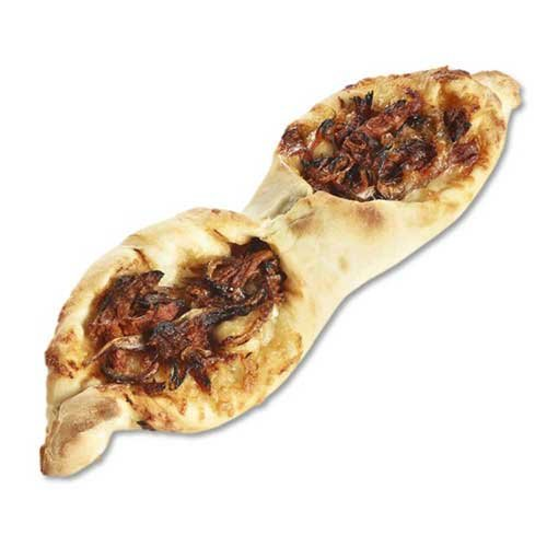 Rustic Crust Frusta Pulled Pork BBQ Sauce and Cheese Pizza - 18 per case. by Rustic Crust