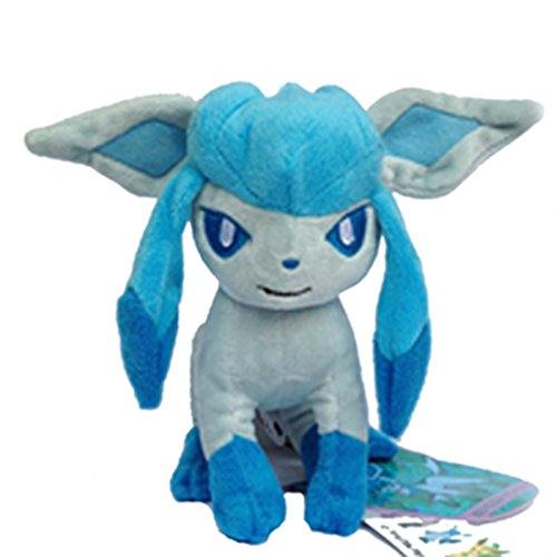 Generic Glaceon Pokemon Pokedoll Ice-type Character Glacia Plush Toy Stuffed Animal Figure Doll 7