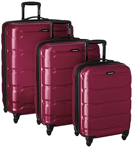 (Samsonite 3-Piece Set, Radiant Pink)