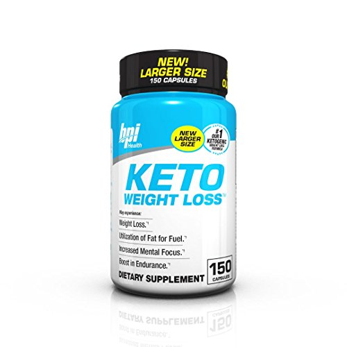 BPI Sports Ketogenic Weight Loss Supplement , 150 Count, New Larger Size, Our #1 Ketogenic Weight Loss Formula - New Weight Loss Formula