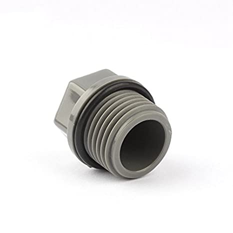 Garden+hoses 10Pcs PVC 1/2 Male Thread Plug Hexagon End Cap Hose End