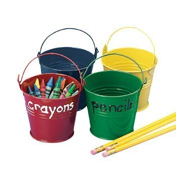 Fun Express Bright Pails - Party Decorations & Pails & Baskets by Oriental Trading - Easter Oriental Basket