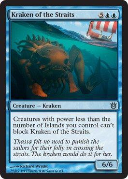 Magic: the Gathering - Kraken of the Straits (42/165) - Born of the - Kraken Online