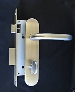 Institution Privacy Mortise Door Lock And Lever Trim Set