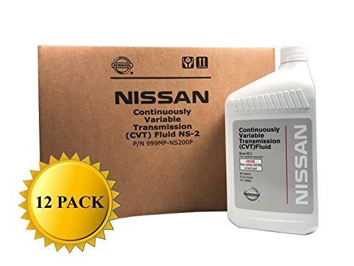 Genuine Nissan OEM CVT-2 Transmission Fluid 999MP-NS200P (12 Quarts) ()