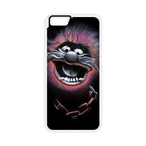 The Muppets Animal 003 funda iPhone 6 4.7 Inch Cubierta blanca del teléfono celular de la cubierta del caso funda EVAXLKNBC14208