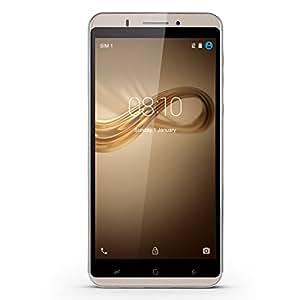 [1GB+16GB] Xgody Y18 6 Inch Android 5.1 Mobile Phones Unlocked MT6580M Quad Core Dual Camera 8MP+5MP Dual SIM GPS WIFI (Gold 1900)