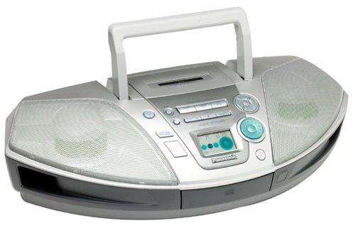 Panasonic RXES20 Digtal Tuner CD Radio Cassette Boombox