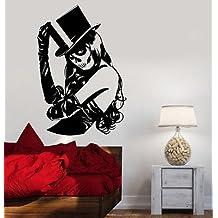 Wall Decal Skull Sexy Sugar Girl Zombie Crippy Vinyl Sticker VS3605