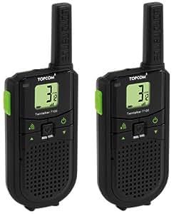 Topcom Twintalker 7100 Sports Pack - Walkie-Talkie (Ión de litio)