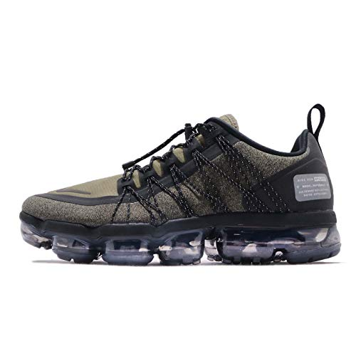 Nike Mens Air Vapormax Run Utility, Medium Olive/Reflect Silver (12 M US, Medium Olive/Reflect Silver)