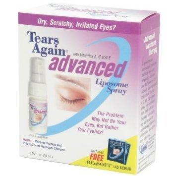 Eye Tears Again (Tears Again Advanced Liposome Spray (.5 fl. oz.) - 2 PACK by OCuSOFT)