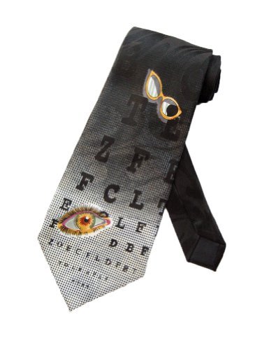 Steven Harris Optometrist Chart Necktie product image