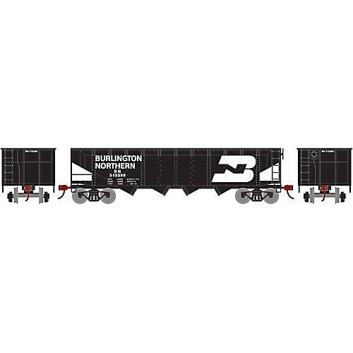 Offset Hopper w Coal Load BN #515599 ()