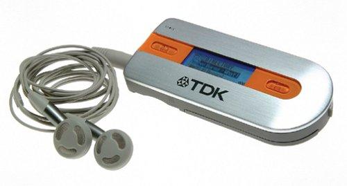 TDK FMP3-128FAX MOJO 128F MP3/WMA/FM Player (128 MB) - 128mb Mp3 Player