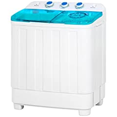 Skip the laundromat altogether with your own portable washer and dryer. This convenient combo makes washing and drying clothes a breeze, as both can be done simultaneously for quick yet efficient cleaning. A lightweight design makes it ideal ...