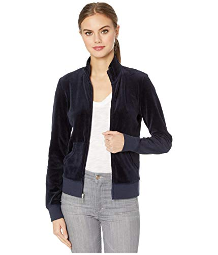 Juicy Couture Black Label Robertson Velour Zip Track Jacket (Regal, X-Small)