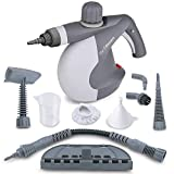 Pro Steam Cleaner with 9-Piece Accessory Set - Multi-Purpose and Multi-Surface