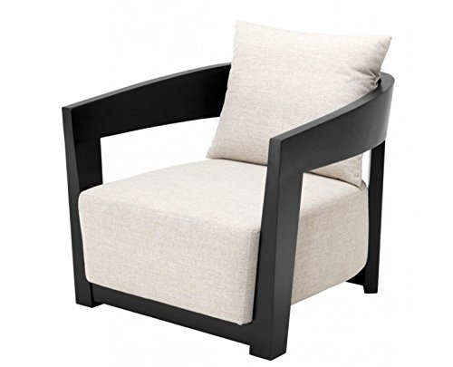 Casa-Padrino Luxury Art Deco Mahogany Armchair Black ...