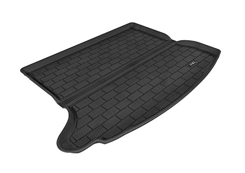 3D MAXpider Cargo Custom Fit All-Weather Floor Mat for Select Mazda3 Models - Kagu Rubber (Black) (Cargo Trunk Cover Mazda3 compare prices)
