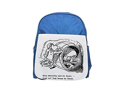Una N imagen de los hombres empujando un barril con un hombre dentro de la mochila