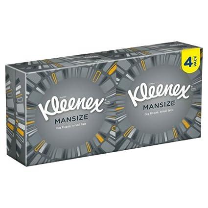 Kleenex Mansize Compact 50 Tissues 1 4 6 Packs