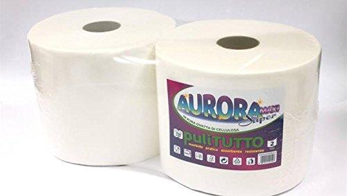 Par de rollos de papel absorbente para secarse las manos, 1700 paños troquelados: Amazon.es: Industria, empresas y ciencia