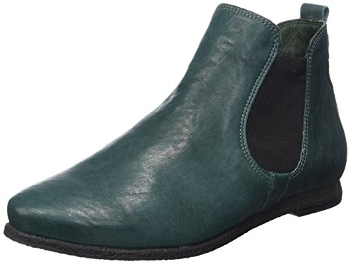 Think Shua, Botas Chelsea para Mujer Verde (Forest/kombi 61)