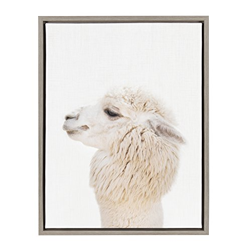 [해외]Kate and Laurel Sylvie Framed Canvas 18x24 Gray / Kate and Laurel Sylvie Framed Canvas, 18x24, Gray