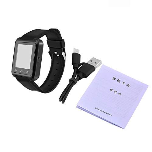 Portable Multifunctional V3.0 + EDR Smart Wrist Watch Phone Camera Card Mate Universal For Smart Phone – Black
